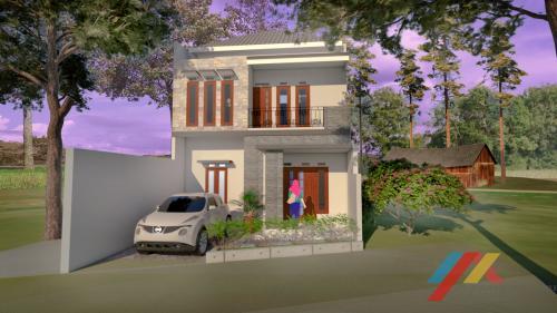 Desain Rumah II Lantai Bpk.Nurfitrianto